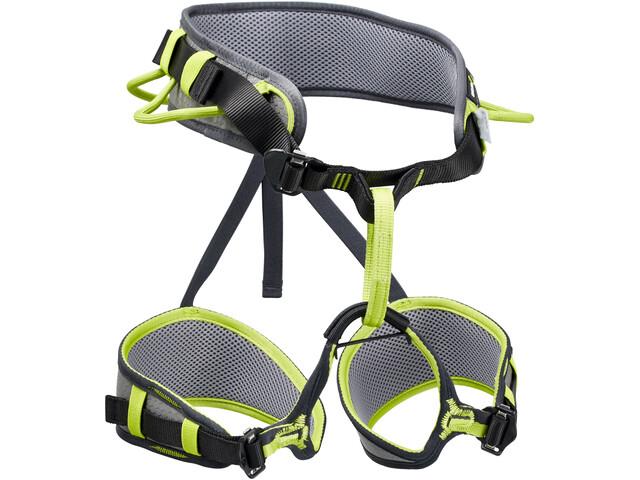 Klettergurt Lacd Harness Start Test : Edelrid zack harness slate oasis campz.at